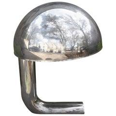 Mid-Century Modern Sarfatti for Arteluce Style Chrome Desk Lamp