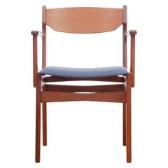 Mid-Century Modern Scandinavian Armchair in Teak