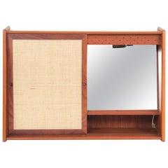 Mid-Century Modern Scandinavian Bathroom Cabinet in Teak
