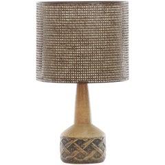 Mid-Century Modern Scandinavian Ceramic Lamp by Marianne Stark
