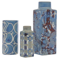 Mid-Century Modern Scandinavian Ceramic Vase by Royal Copenhagen 780/3259