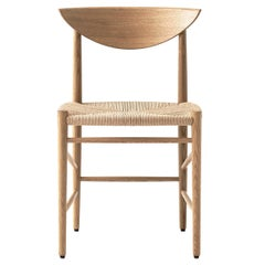 Mid-Century Modern Scandinavian Chair Model 316 in Oak by Hvidt & Mølgaard