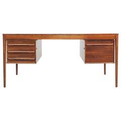 Mid-Century Modern Scandinavian Desk in Rosewood by Torbjørn Afdal
