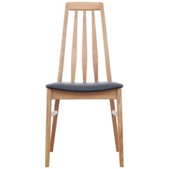 Mid-Century Modern Scandinavian Dining Chair Model Eva by Niels Koefoed