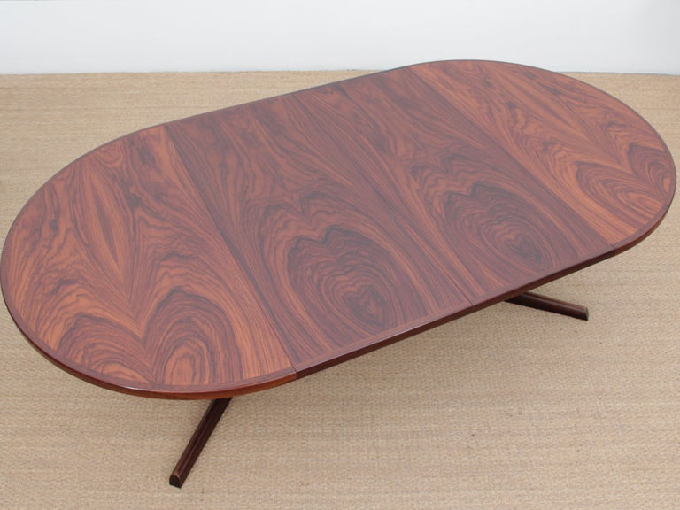 Mid-20th Century Mid-Century Modern Scandinavian Dining Table from Gudme Møbelfabrik in Rosewood