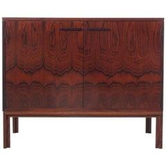 Mid-Century Modern Scandinavian HiFi Cabinet in Rosewood