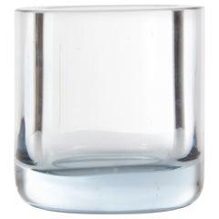 Mid-Century Modern Scandinavian Light Blue Glass Vase by Per Lutken
