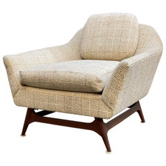 Mid-Century Modern Scandinavian Lounge Chair in the Manner of Rastad and Relling