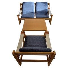 Mid-Century Modern Scandinavian Lounge Set by Yngve Ekström