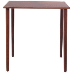 Mid-Century Modern Scandinavian Occasional Table in Rosewood