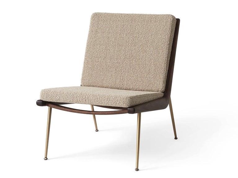 Scandinavian Modern Mid-Century Modern Scandinavian Pair of Boomerang Lounge Chair For Sale