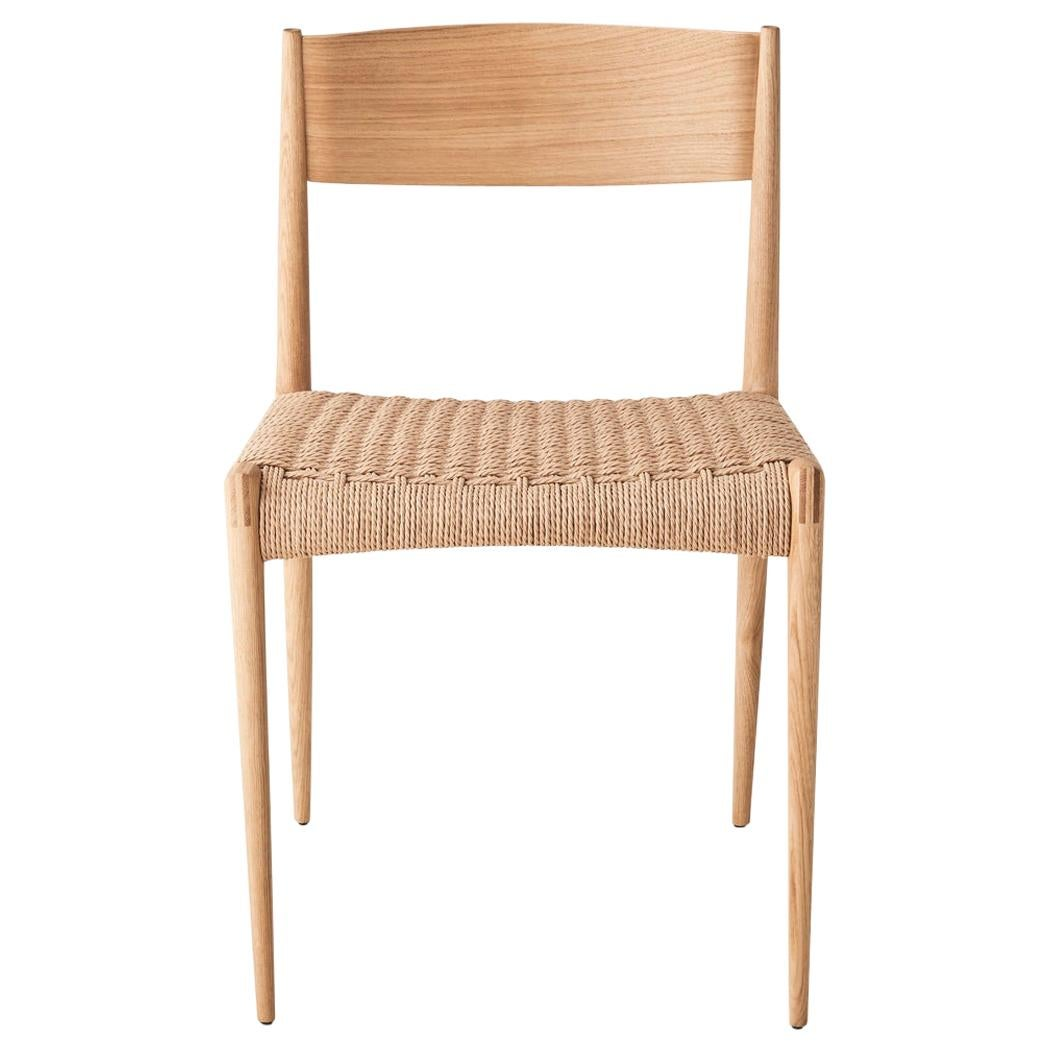 Mid-Century Modern Scandinavian Pia Chair by Poul Cadovius, New Edition