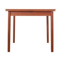 Mid-Century Modern Scandinavian Quare Dining Table in Teak 4/6 Seats