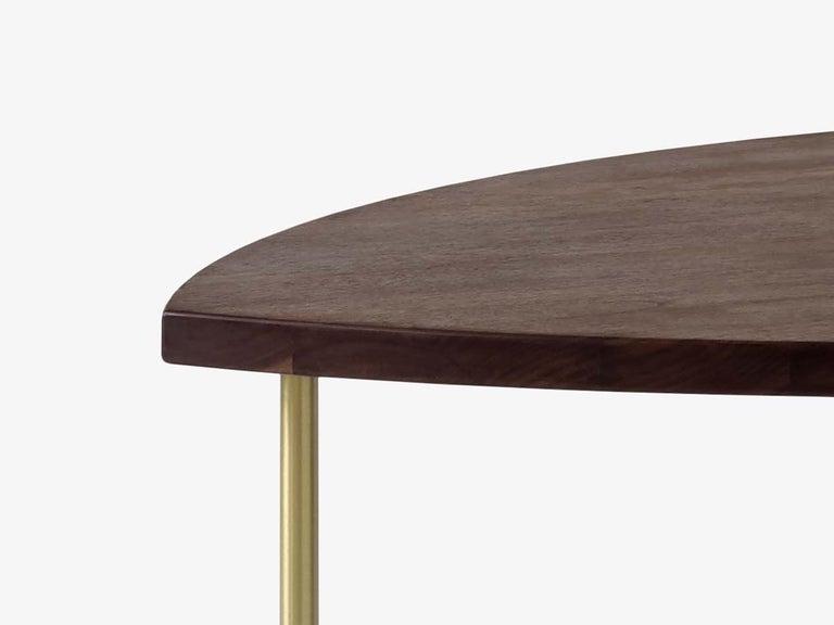 Mid-Century Modern Scandinavian Set of 6 Pinwheel HM7 Coffee or Side Tables For Sale 1