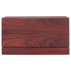 Mid-Century Modern Scandinavian Small Chest of Drawers in Rosewood by Iversen