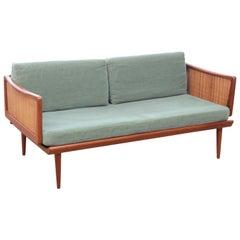 Mid-Century Modern Scandinavian Sofa 2 Seats FD451 by Peter Hvidty & Orla Mølga