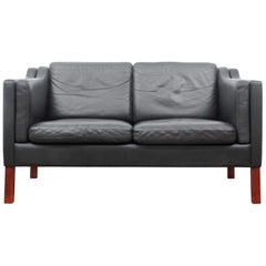 Mid-Century Modern Scandinavian Sofa Model 2212 by Borge Mogensen