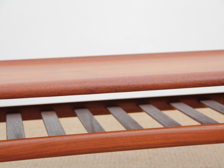 Mid-Century Modern Scandinavian Sofa Table by Grete Jakl 2