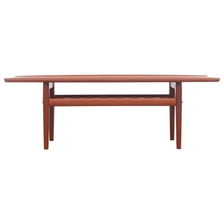 Mid-Century Modern Scandinavian Sofa Table by Grete Jakl
