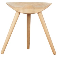 Mid-Century Modern Scandinavian Stool Model ML42 by Mogens Lassen, New Edition