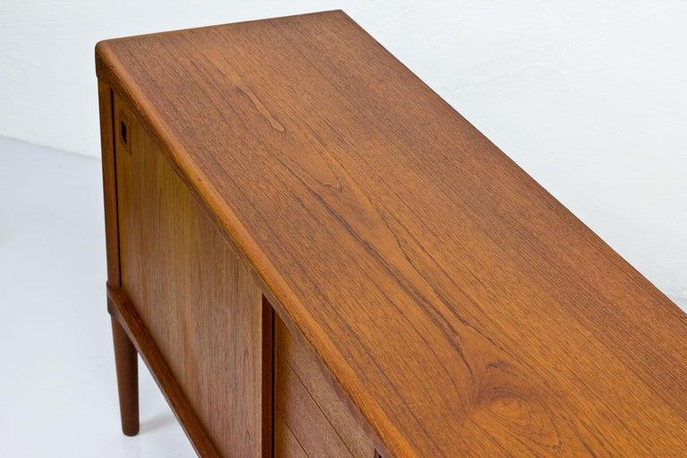 Mid-Century Modern Scandinavian Teak Sideboard by H.W. Klein for Bramin, Denmark For Sale 8