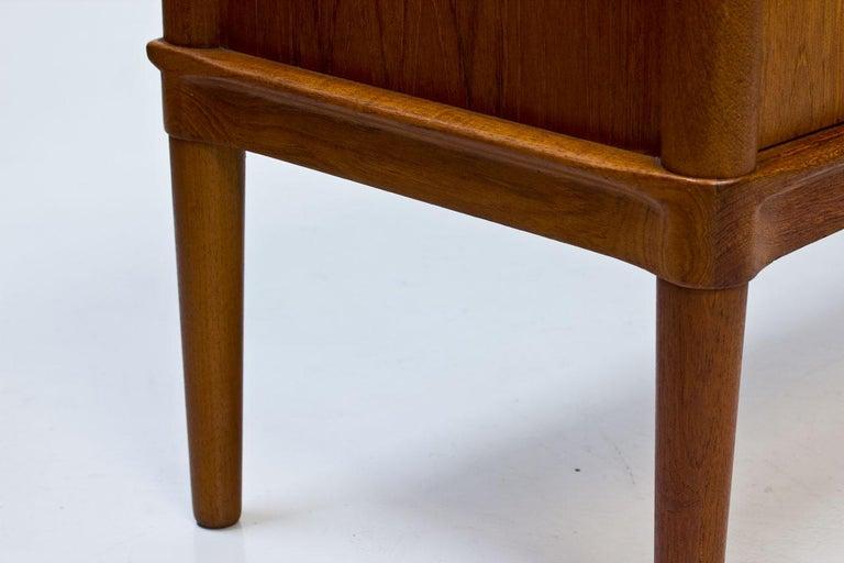 Mid-Century Modern Scandinavian Teak Sideboard by H.W. Klein for Bramin, Denmark For Sale 10