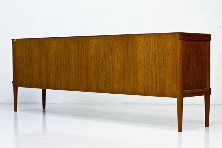 Mid-Century Modern Scandinavian Teak Sideboard by H.W. Klein for Bramin, Denmark For Sale 2