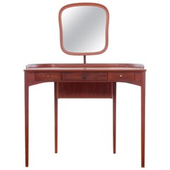 Mid-Century Modern Scandinavian Vanity Table, by Carl Malmsten