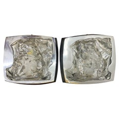 Mid-Century Modern Sconces by Hillebrand, Germany, circa 1970