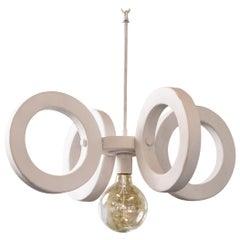 Mid-Century Modern Sculptural Pendant Light