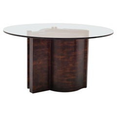 Mid-Century Modern Sculptural Wooden Dining Table By Nerone & Patuzzi