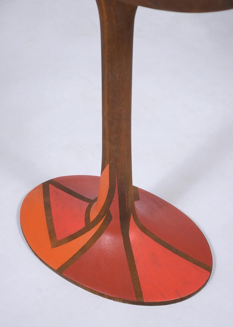 1970's Vintage Mid-Century Modern Abstract Sculpture In Good Condition For Sale In Los Angeles, CA