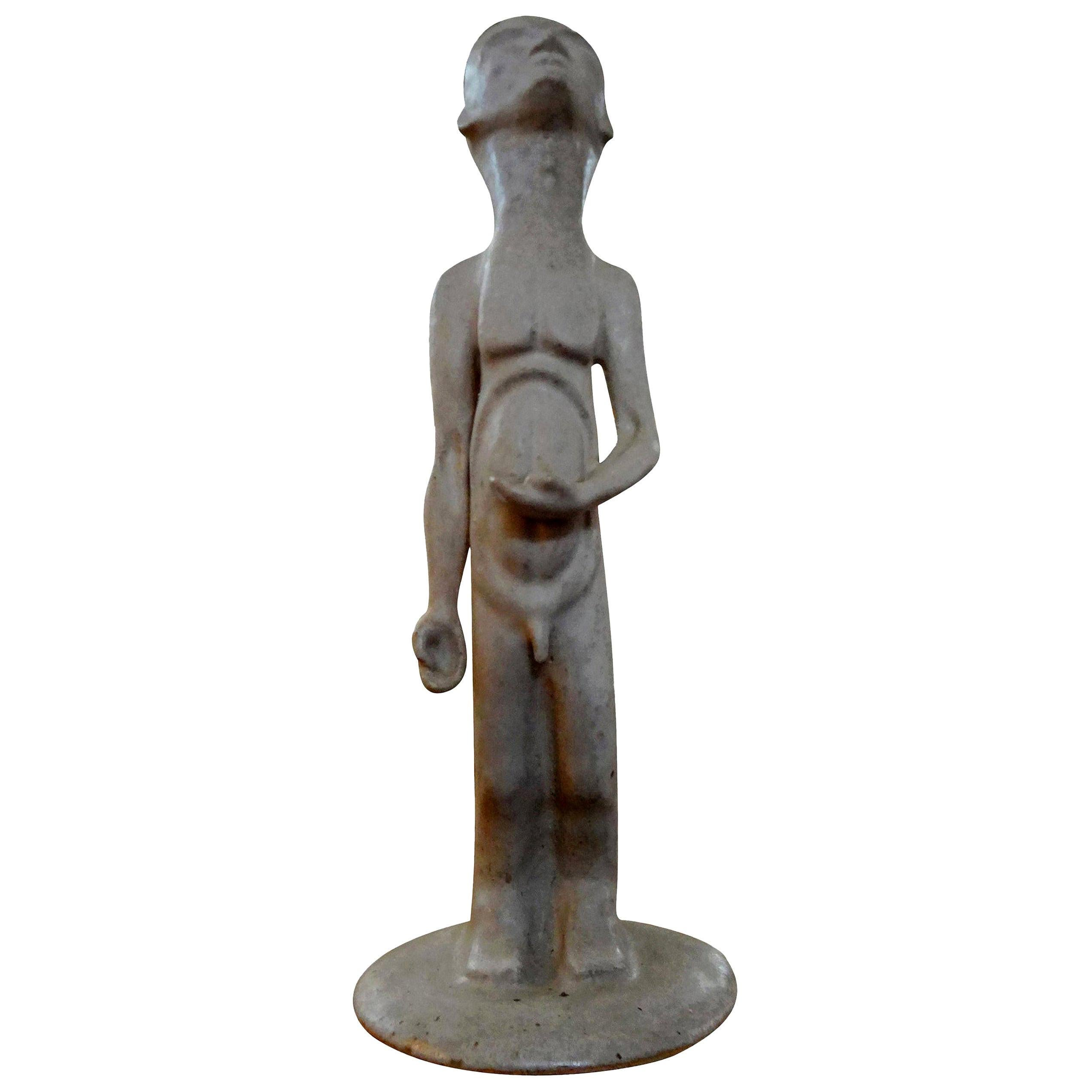 Mid-Century Modern Sculpture in the Manner of Amedeo Modigliani