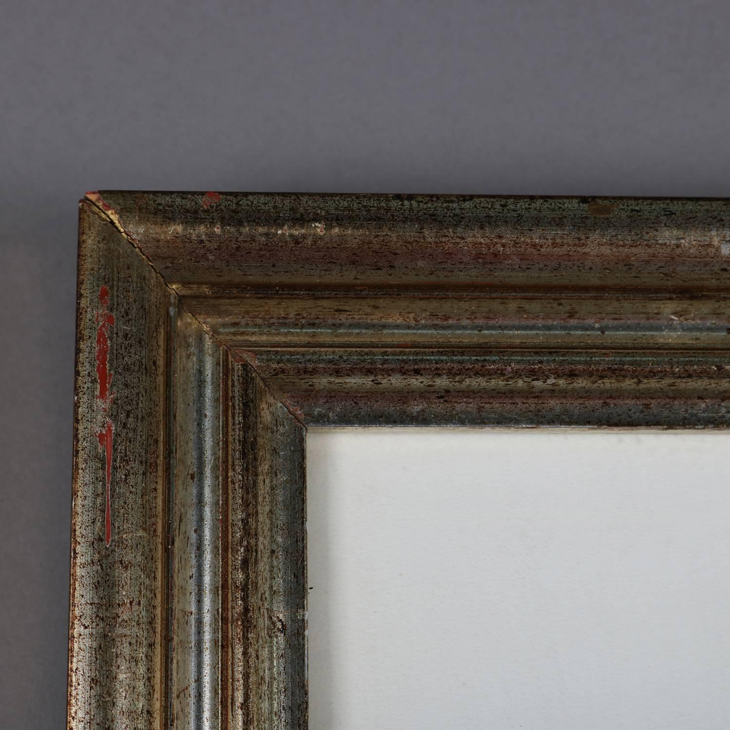 2 Edwardian Oak Picture Frames In Very Good Condition 27x 23 Cm High Resilience