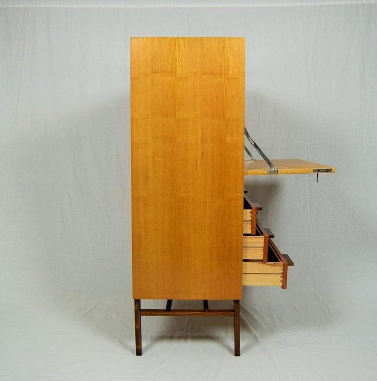 Mid-Century Modern Secretaire by František Mezulánik for UP Závody, 1960s For Sale 2