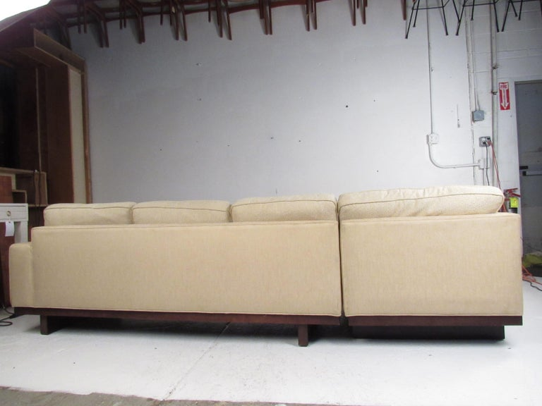 Mid-20th Century Mid-Century Modern Sectional Sofa by Milo Baughman for Thayer Coggin For Sale