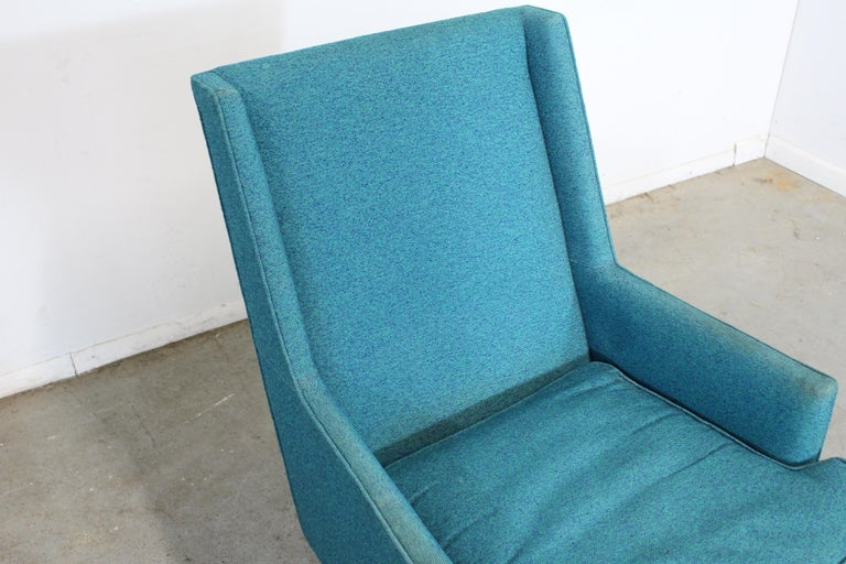 Mid-Century Modern Selig Pencil-Leg Lounge Chair For Sale 5