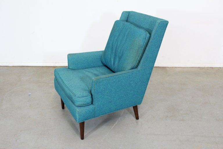20th Century Mid-Century Modern Selig Pencil-Leg Lounge Chair For Sale