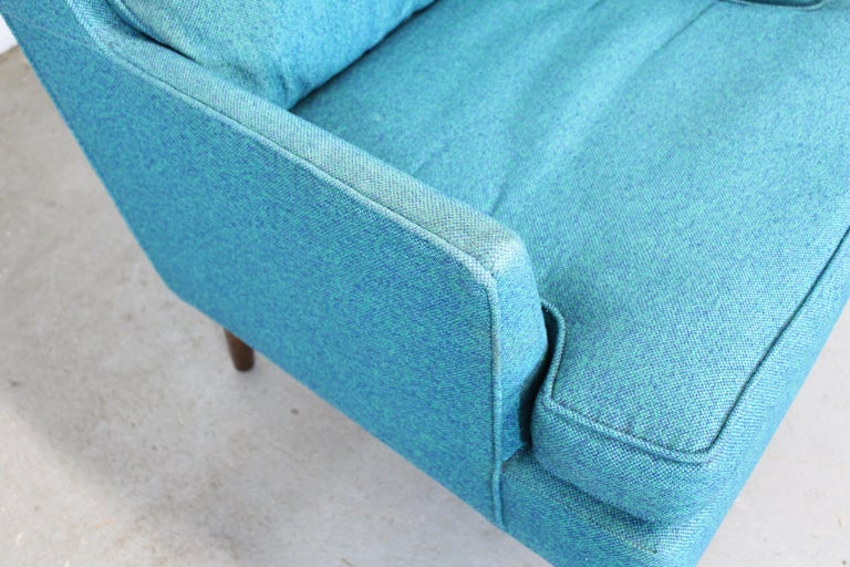 Mid-Century Modern Selig Pencil-Leg Lounge Chair For Sale 2