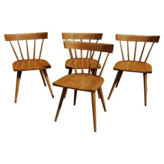 Mid-Century Modern Set of 4 Paul McCobb Dining Chairs, American, 1950s
