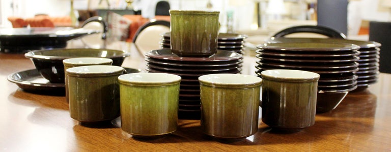 For your consideration is a magnificent set of forty-three ceramic dishes,