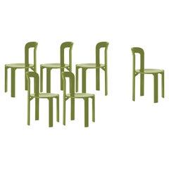 Mid-Century Modern, Set of 6 Rey, Arik Levy SA1 Chairs by Dietiker, Design 1971