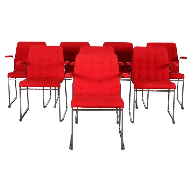 Mid-Century Modern Set of 8 chairs by Bruno Mathsson