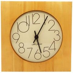Mid-Century Modern Seth Thomas Wall Clock