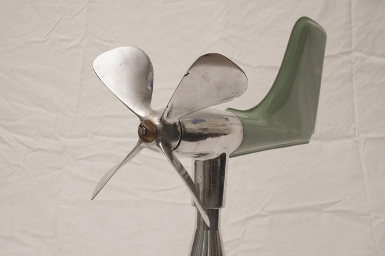 20th Century Mid-Century Modern Ship's Aerovane and Anemometer For Sale