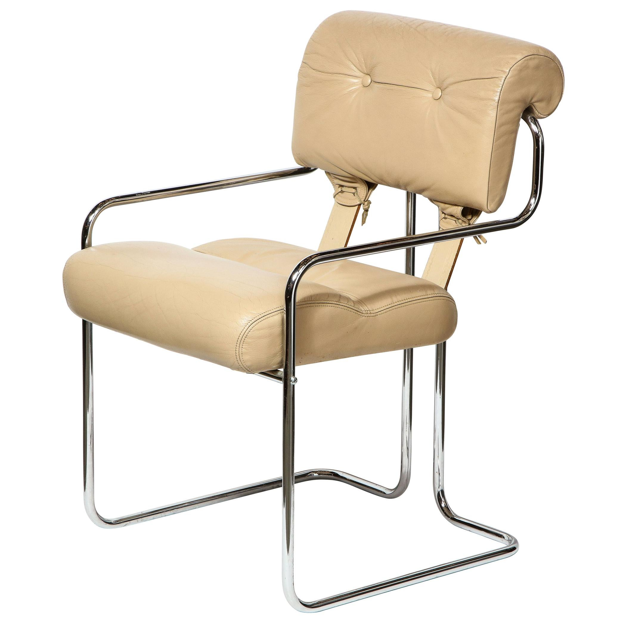 Mid-Century Modern Side Chair by Guido Faleschini for Pace Furniture Co.