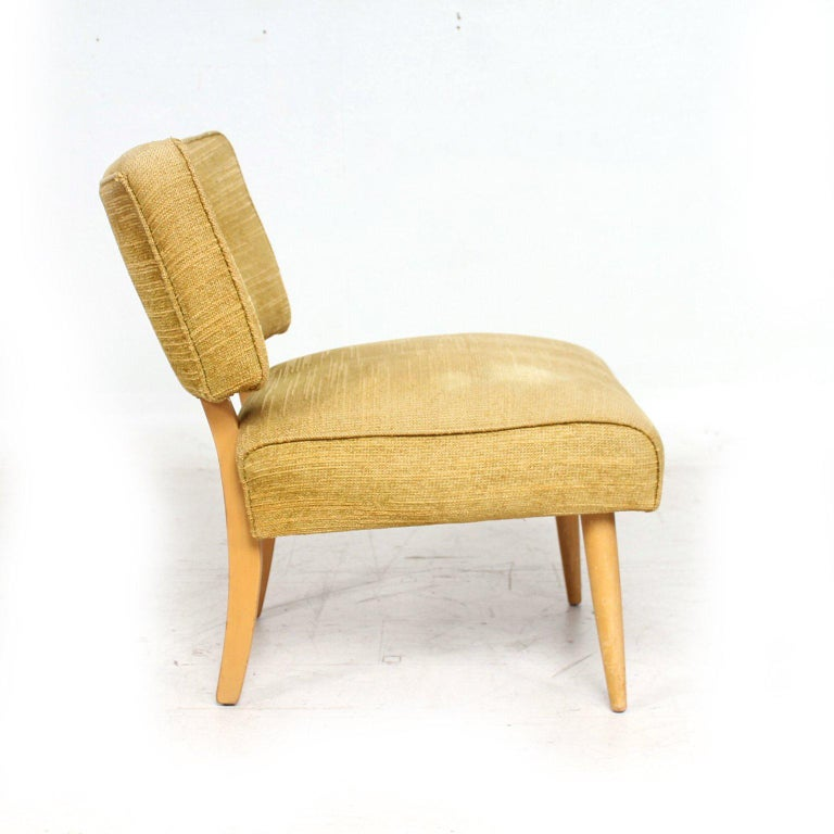 Mid-Century Modern Side Chair In Fair Condition For Sale In National City, CA