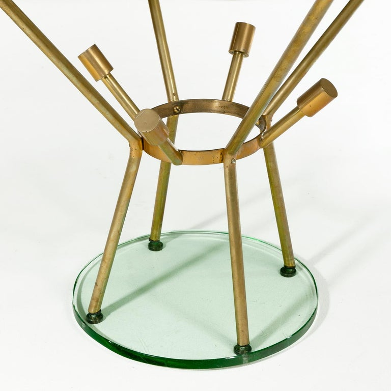 Italian Mid-Century Modern Side Table Attributed to Fontana Arte For Sale