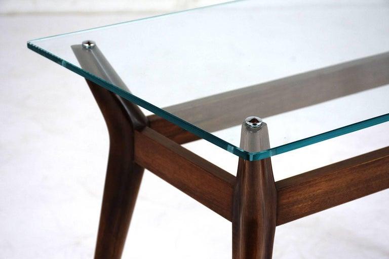 Teak Mid-Century Modern Side Table For Sale
