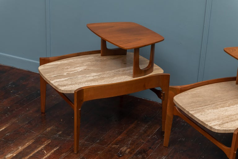 Mid-Century Modern Side Tables by Bertha Schaefer For Sale 2